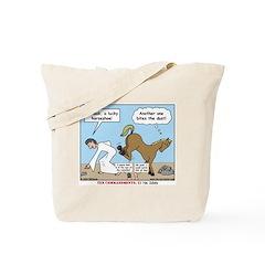 Unlucky Horseshoe Tote Bag