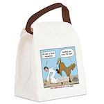 Unlucky Horseshoe Canvas Lunch Bag