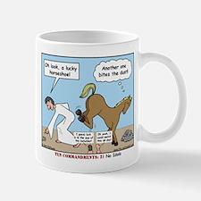 Unlucky Horseshoe Mug