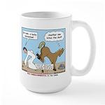Unlucky Horseshoe Large Mug