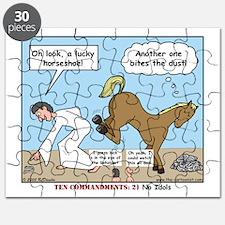 Unlucky Horseshoe Puzzle