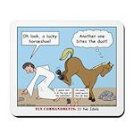 Unlucky Horseshoe Mousepad