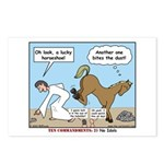 Unlucky Horseshoe Postcards (Package of 8)