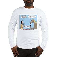 Lucky Horseshoe Long Sleeve T-Shirt
