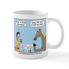Lucky Horseshoe Mug