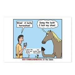 Lucky Horseshoe Postcards (Package of 8)