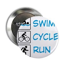 "TRIathlon 2.25"" Button"