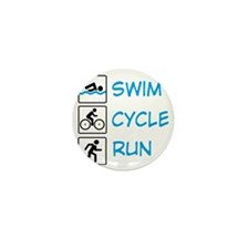 TRIathlon Mini Button
