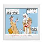False Idols Tile Coaster