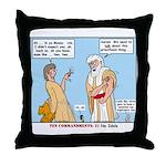 False Idols Throw Pillow