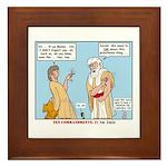 False Idols Framed Tile