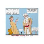 False Idols Throw Blanket