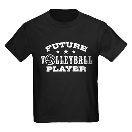 Future Volleyball Player Kids Dark T-Shirt