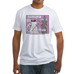 Pharaoh Uh-Oh Fitted T-Shirt