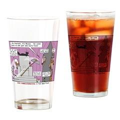 Pharaoh Uh-Oh Drinking Glass
