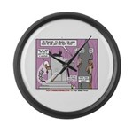 Pharaoh Uh-Oh Large Wall Clock