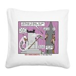 Pharaoh Uh-Oh Square Canvas Pillow