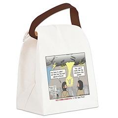 Light Show Canvas Lunch Bag