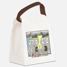 Light Show Canvas Lunch Bag