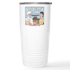 Fine Print Travel Mug