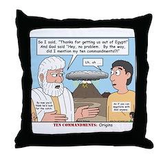 Fine Print Throw Pillow