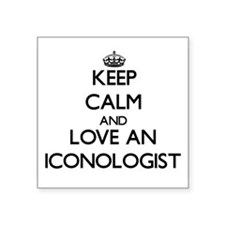 Keep Calm and Love an Iconologist Sticker
