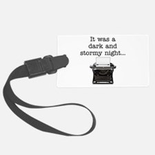 Dark and stormy - Luggage Tag
