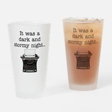 Dark and stormy - Drinking Glass