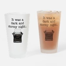 Dark and stormy - Drinking Glass