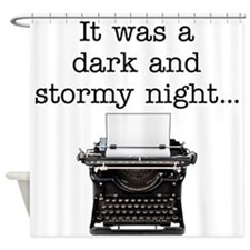 Dark and stormy - Shower Curtain