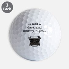 Dark and stormy - Golf Ball