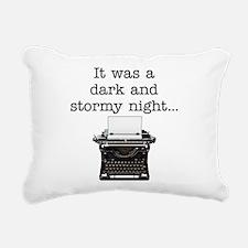Dark and stormy - Rectangular Canvas Pillow