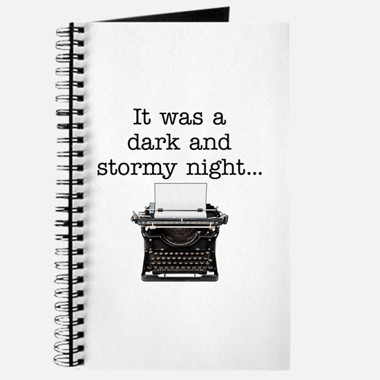 Dark and stormy - Journal