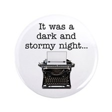 "Dark and stormy - 3.5"" Button"