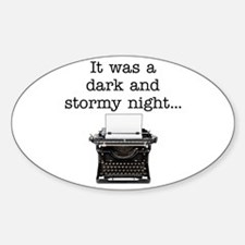 Dark and stormy - Decal