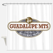 Guadalupe Mountains National Park Shower Curtain