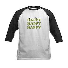 Green Digital Camo Happy Happy Happy Tee