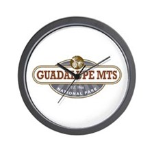 Guadalupe Mountains National Park Wall Clock