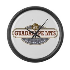 Guadalupe Mountains National Park Large Wall Clock