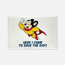 Mighty Mouse Here I Come Magnets
