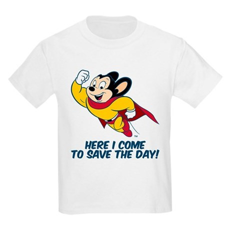 CafePress Mighty Mouse Here I Come T-Shirt