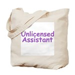 Unlicensed Assistant Tote Bag