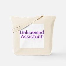 Unlicensed Assistant Tote Bag
