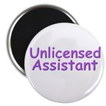"Unlicensed Assistant 2.25"" Magnet (10 pack)"