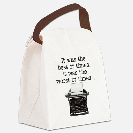 Best of times - Canvas Lunch Bag