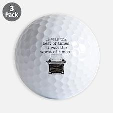 Best of times - Golf Ball