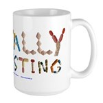 Mentally Interesting Large Mug