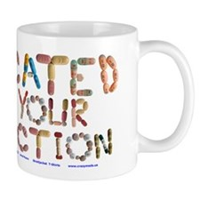 Medicated For Your Protection Mug Mugs