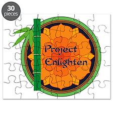 Official Project Enlighten Logo Puzzle