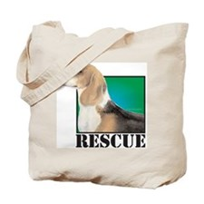 beagle RESCUE Tote Bag